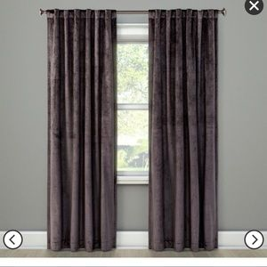 Target project 62 velvet curtains (2) 95""